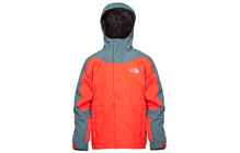 The North Face Boy&#039;s Evolution Triclimate Jacket fiery red